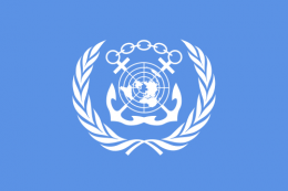 Flag of the International Maritime Organization.png